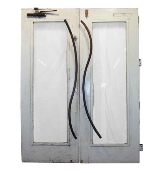 Glass Panel Double Door - Entry Doors