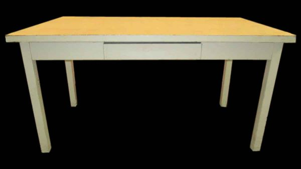 Metal Desk with Single Drawer - Office Furniture