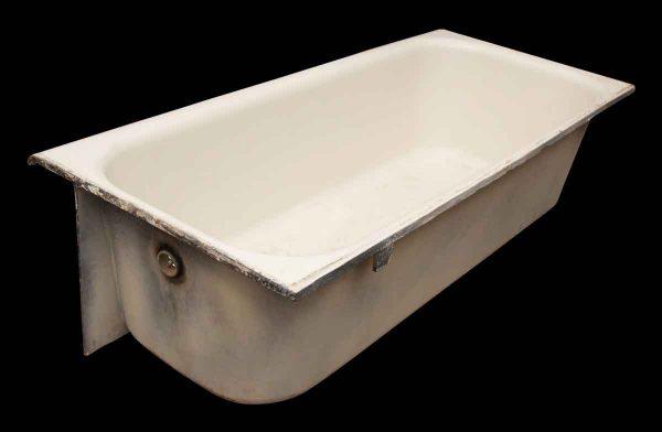 Porcelain Enamel Over Cast Iron Bath Tub - Bathroom