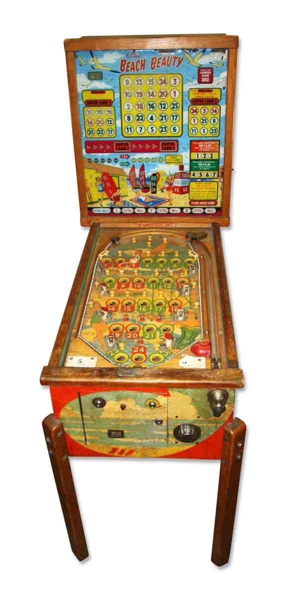 1950s Vintage Pinball Machine - Electronics