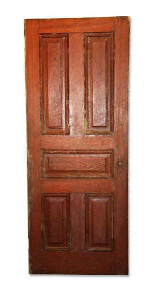 Simple American Chestnut Five Panel Door - Standard Doors