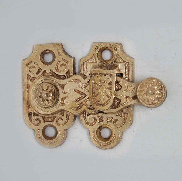 Bronze Shutter Latch with Aesthetic Design - Window Hardware