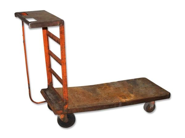 Antique Industrial Factory Cart - Industrial