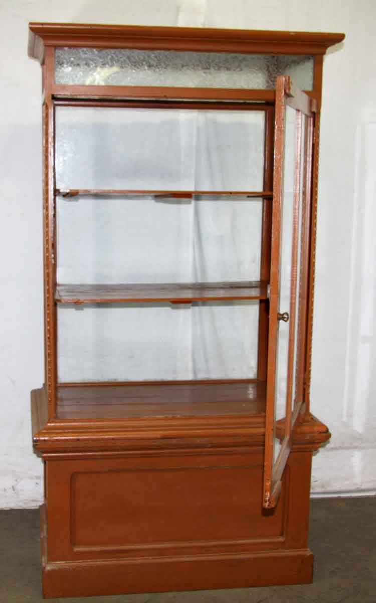 Cabinet With One Glass Door Olde Good Things