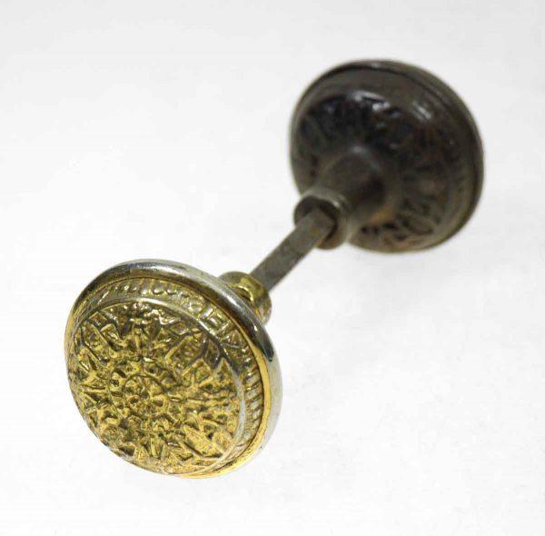Bronze & Brass Plated Knob Set - Door Knobs