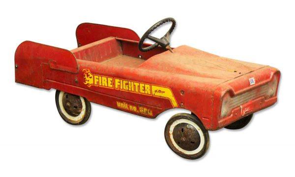 Vintage Child's Fire Engine - Children's Items
