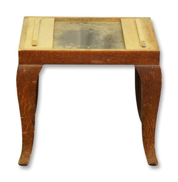 Small Wooden Table Base - Flea Market