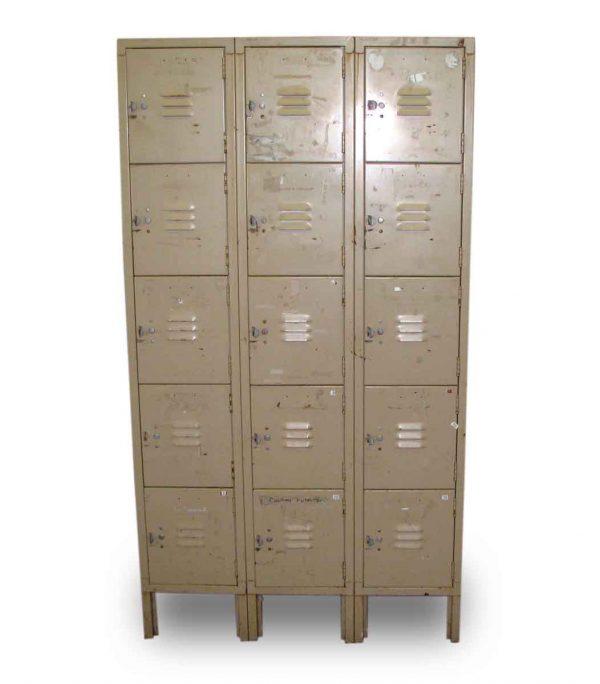 Metal Locker Units - Industrial