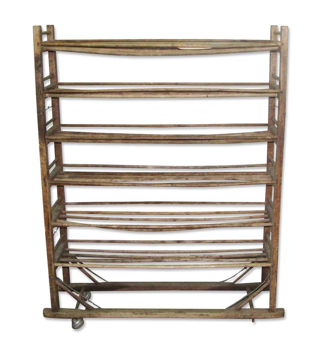 Design Wooden Shoe Rack wooden shoe rack on wheels olde good things wheels