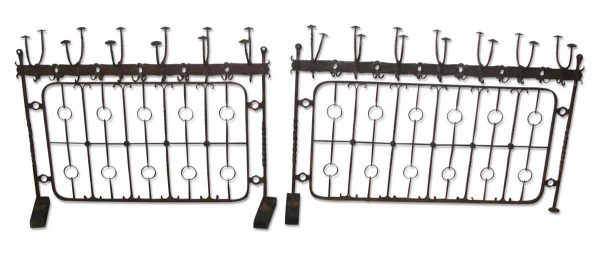 Unusual Wrought Iron Hat Racks - Decorative Metal
