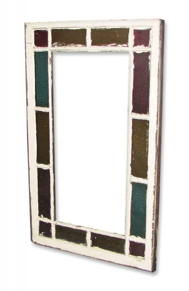 Queen Ann Antique Stained Glass Windows - Stained Glass