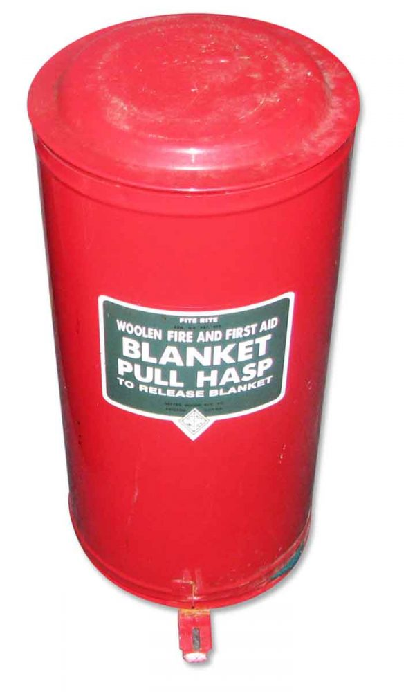 Vintage Safety Blanket in Can - Unusual items