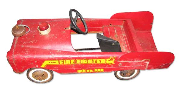 Vintage Amf Fire Engine Car - Children's Items