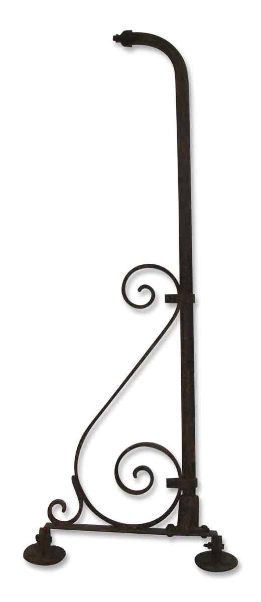 Wrought Iron Sign Bracket - Shelf & Sign Brackets