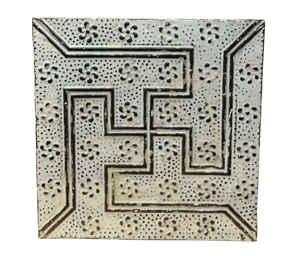 Maze Bright White Tin Panel - Tin Panels