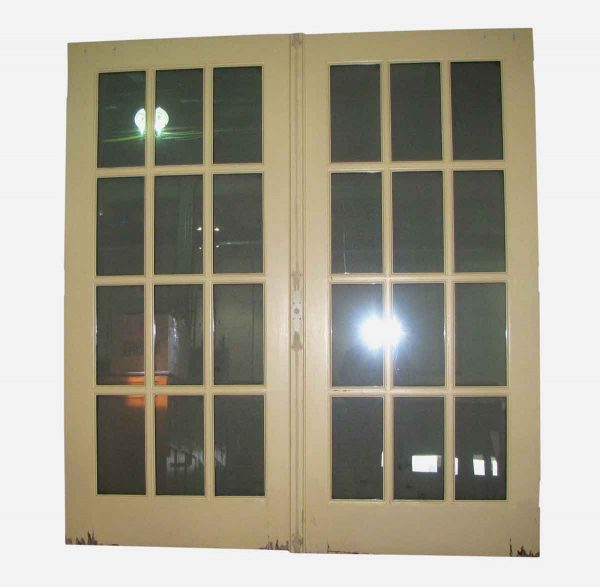 Twelve Panel French Double Door - French Doors