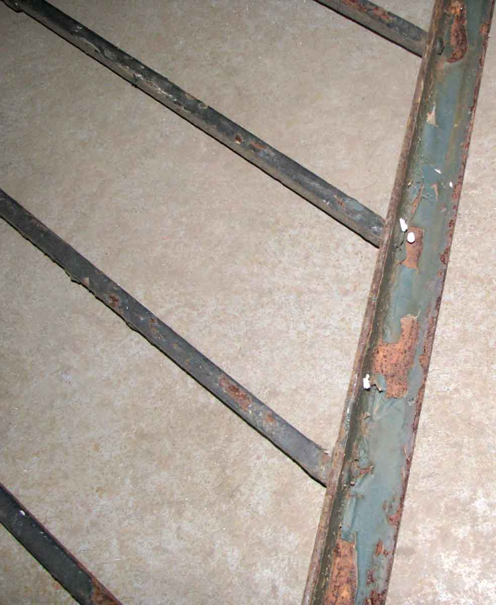 Wrought Iron Stair Railing With Gothic Design Olde Good