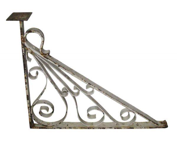 Wrought Iron Balcony Brackets - Shelf & Sign Brackets
