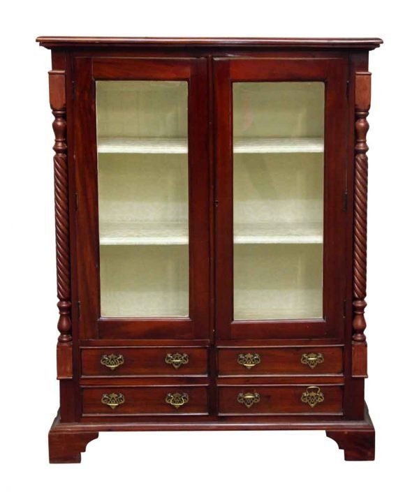 American Dining Room Cabinet with Three Shelves - Cabinets