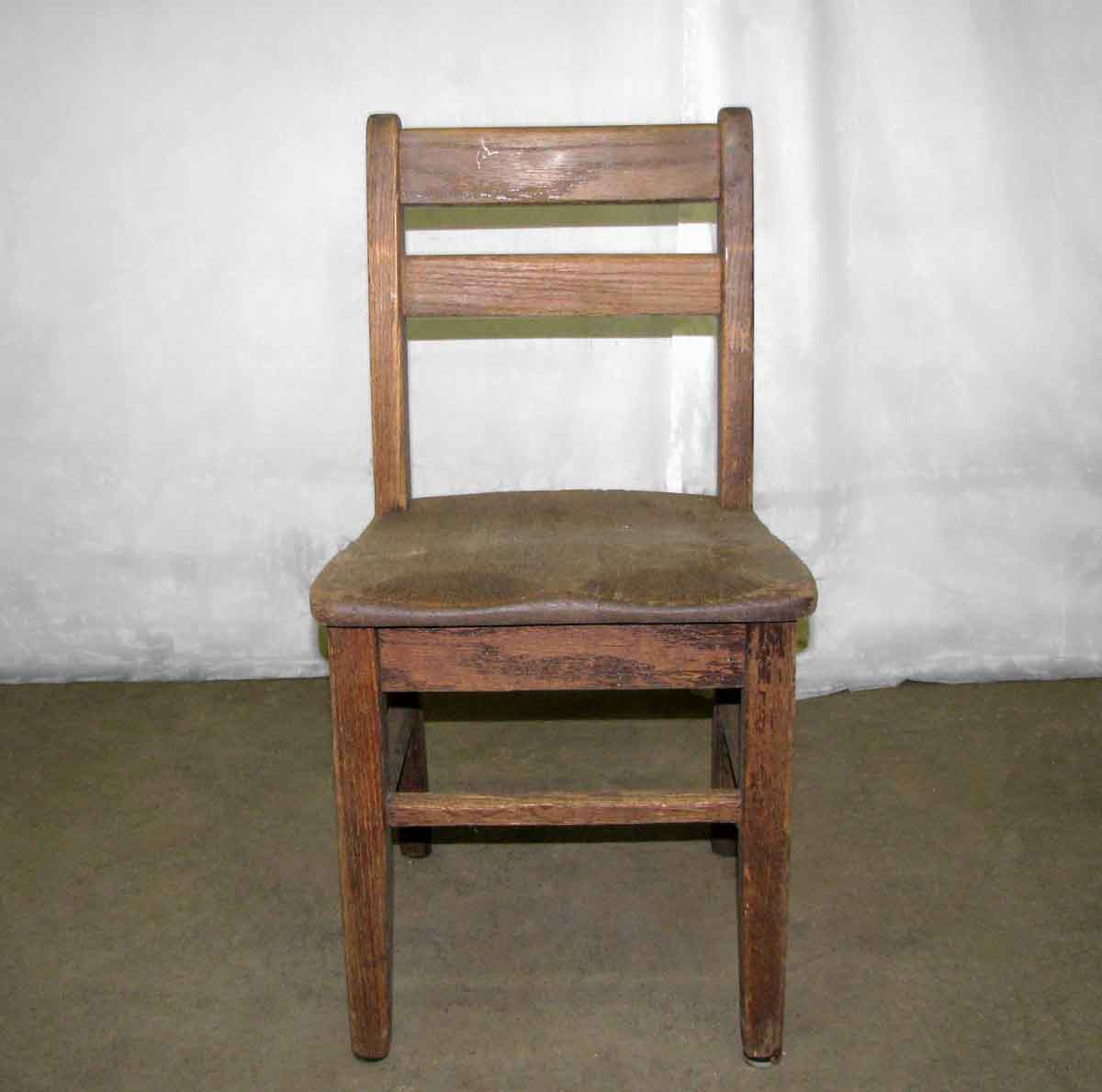 Old wooden chairs - Old Wooden School Chair