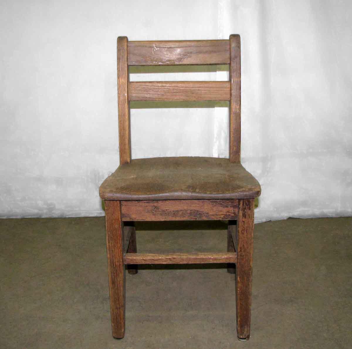 Wooden School Chair ~ Old wooden school chair olde good things