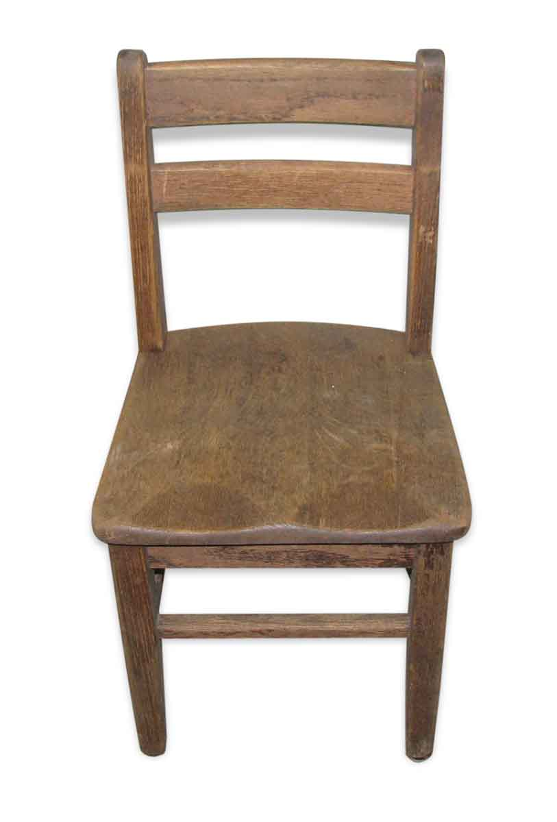 Old Wooden School Chair