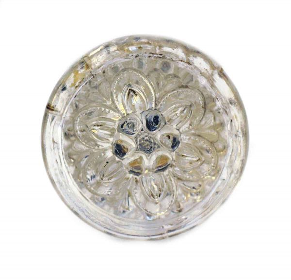 Glass Floral Drawer Knob - Cabinet & Furniture Knobs