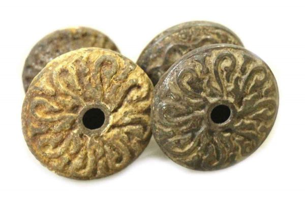 Pair of Eastlake Bronze Drawer Knobs - Cabinet & Furniture Knobs