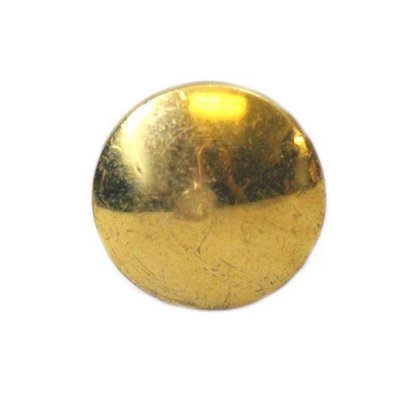 Classic Small Brass Knob - Cabinet & Furniture Knobs