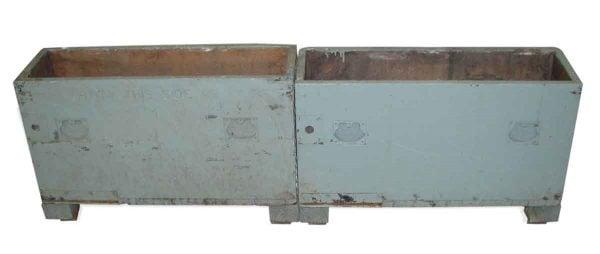 Vintage Industrial Tool Storage Chests or Crates - Industrial