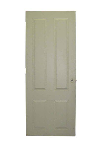 Four Vertical Panel Traditional Door - Standard Doors