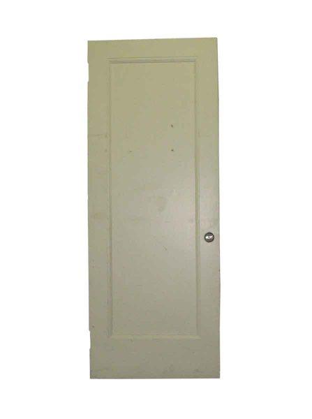 Single Recessed Panel Painted Classic Door - Standard Doors