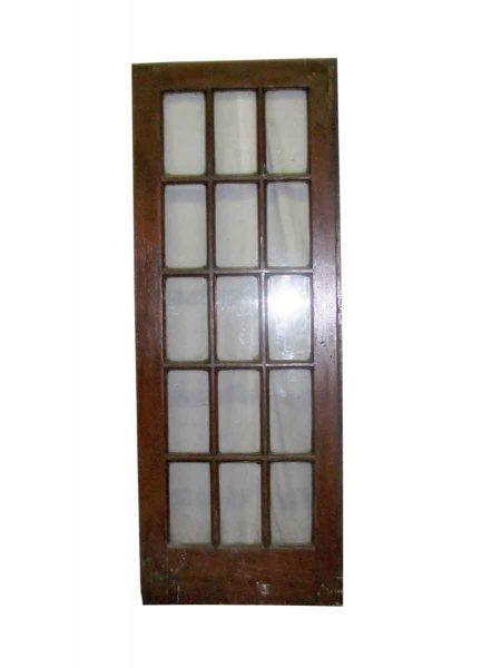 Fifteen Panel Doors - French Doors