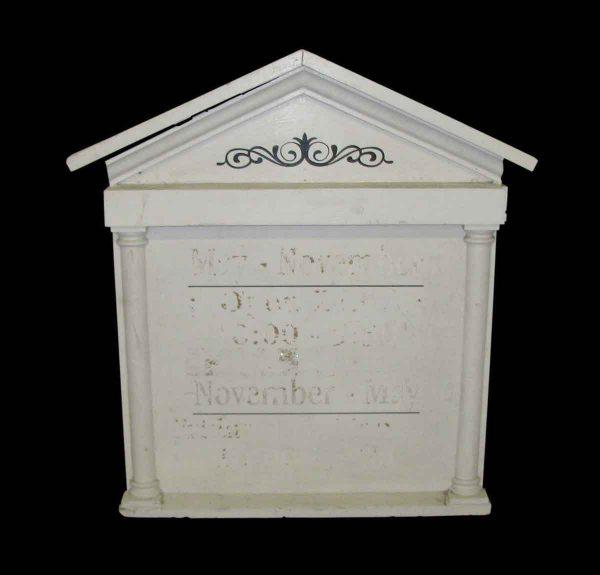 Vintage Menu or Announcement Sign - Commercial Furniture