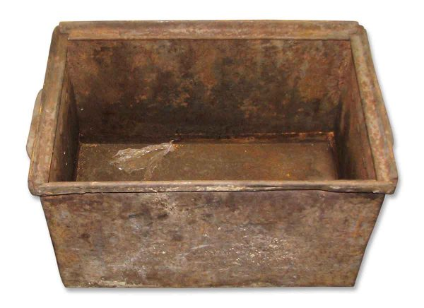 Vintage Industrial Metal Parts or Display Bin - Industrial