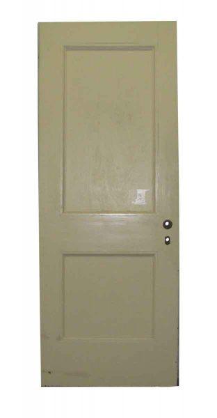 Simple Design Two Panel Door - Standard Doors
