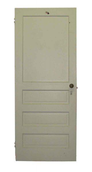 Four Panel White Interior Door - Standard Doors