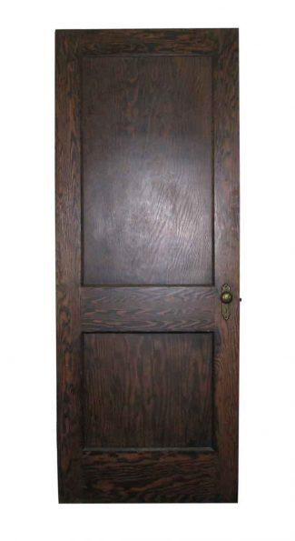 Two Panel Wooden Door