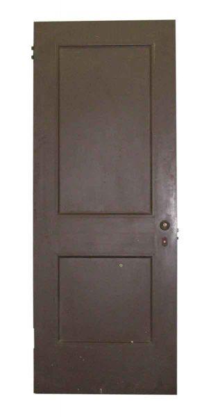 Two Panel Wood Door - Standard Doors