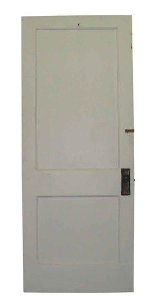 Wooden Turn of the Century Two Panel Door - Standard Doors