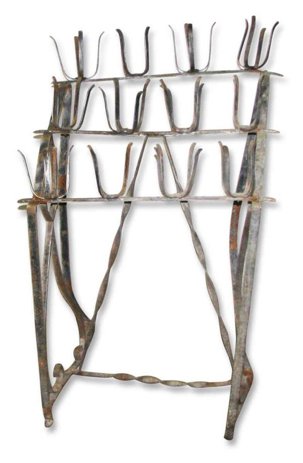 Votive Wrought Iron Candle Stand - Candle Holders
