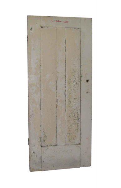 Two Vertical Panel White Door - Standard Doors