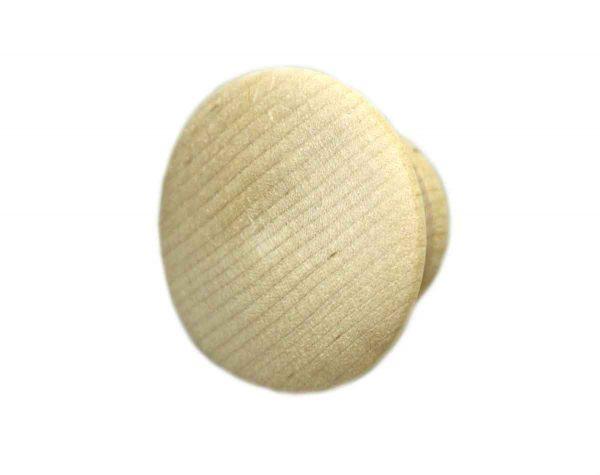 Plain Round Wooden Pulls - Cabinet & Furniture Knobs