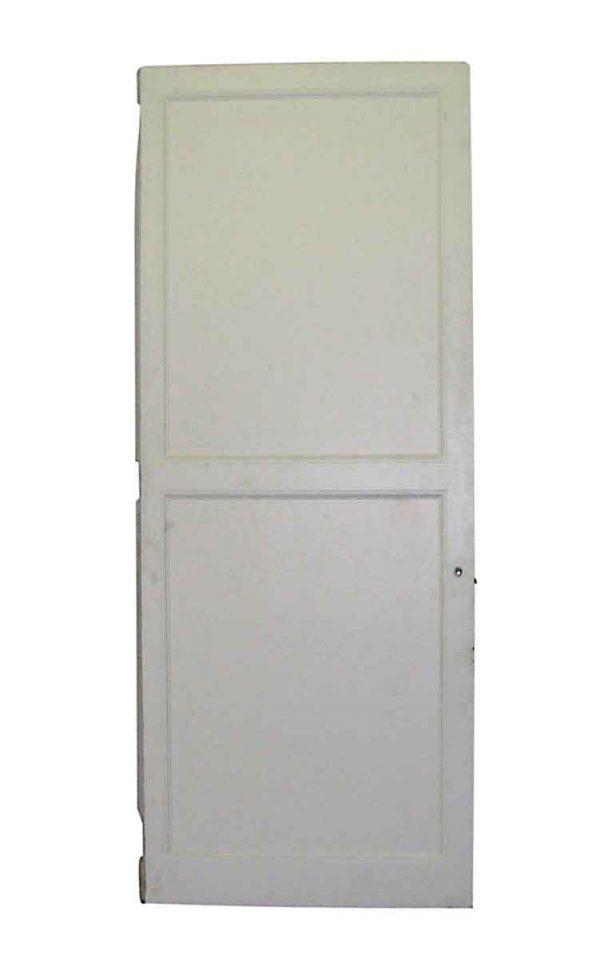Raised Panel Wood Door with Full Length Mirror - Standard Doors
