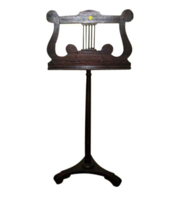 Tindale Carved Mahogany Music Stand - Musical Instruments