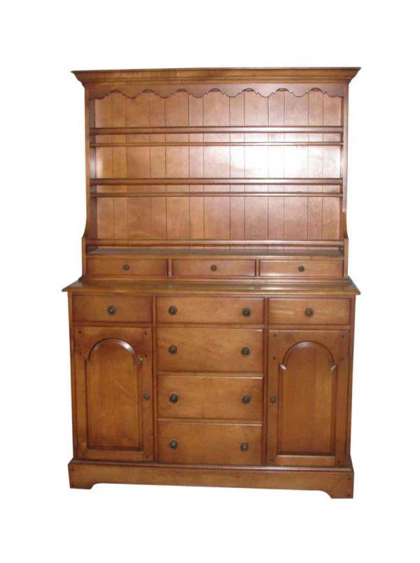 Cherry Hutch Cabinet - Cabinets