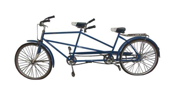 Vintage Columbia Two Seat Bicycle - Bicycles