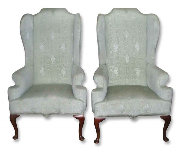 Georgian Wing Back Chairs - Living Room