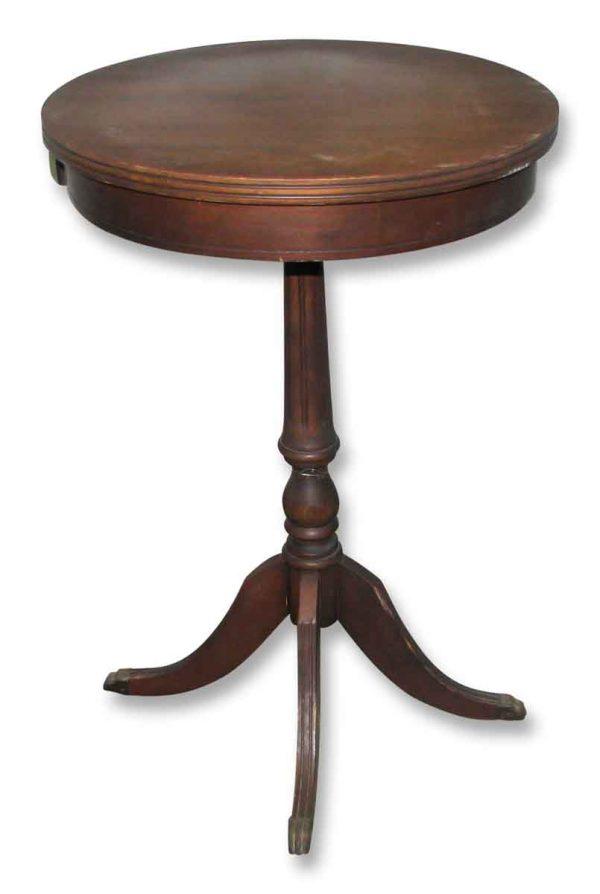 Antique Side Drink Table - Living Room