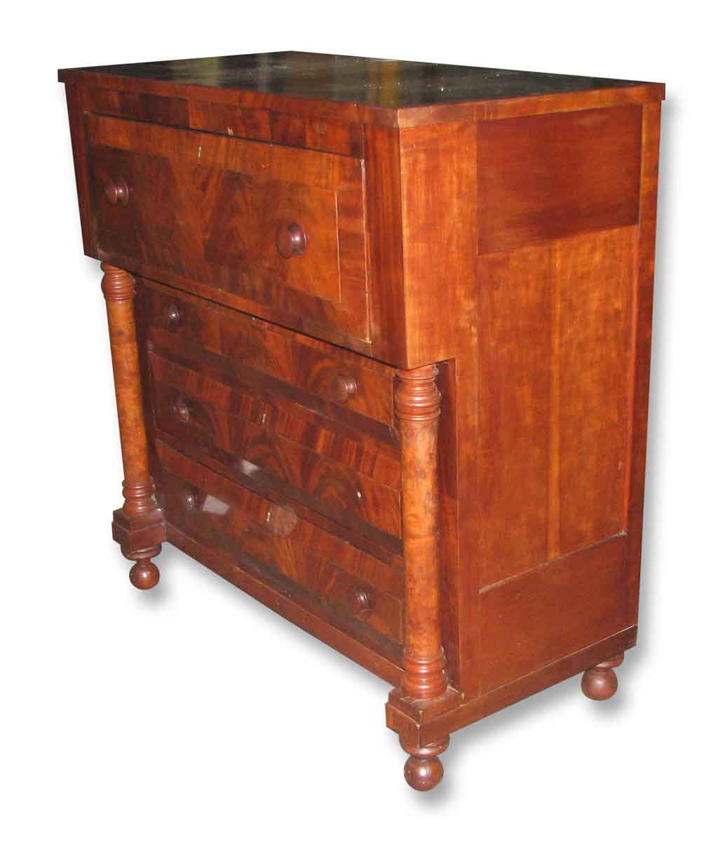 flip top desk. Empire Dresser With Flip Top Desk Circa 1860
